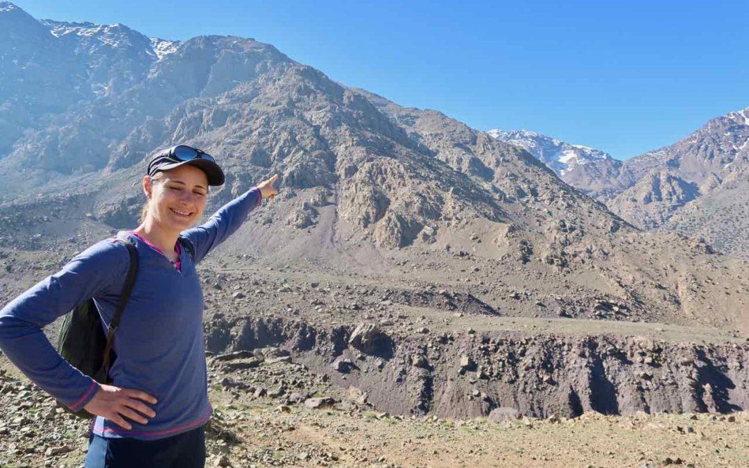 Wandertipp: hoher Atlas bei Imlil, Marokko, südlich von Marrakesh