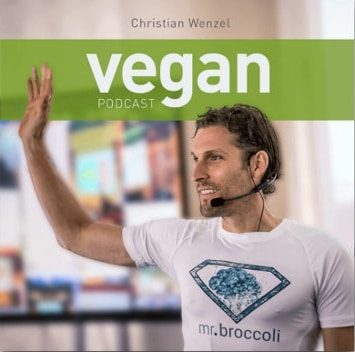 Im Vegan Podcast beim Interview mit Christian Wenzel