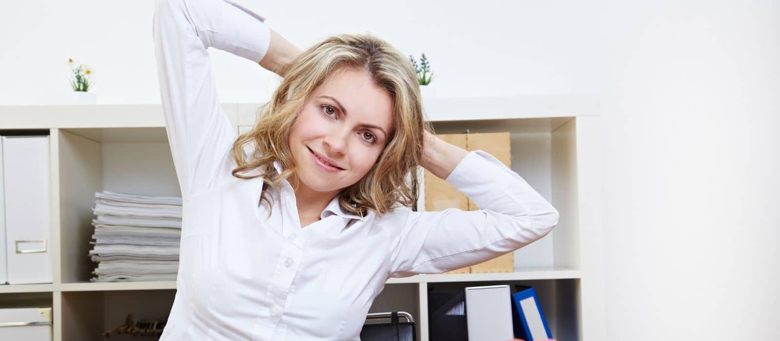 Das 4 Wochen Rücken-Fitness Programm für's Büro