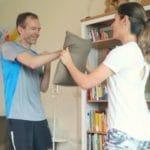 Partner Workout für zuhause für Erwachsene und Kinder