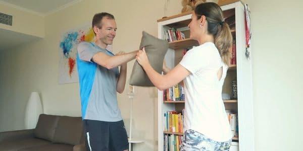 Partner Workout für zuhause