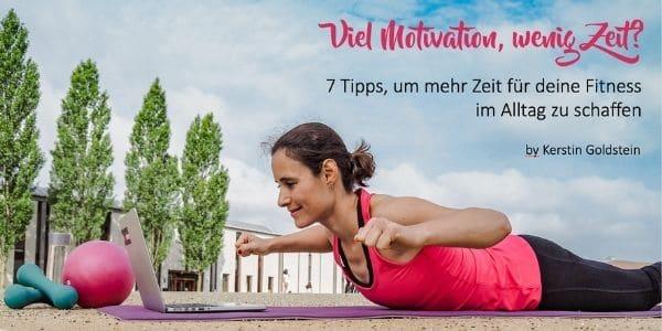 Tipps für mehr Zeit für Fitness