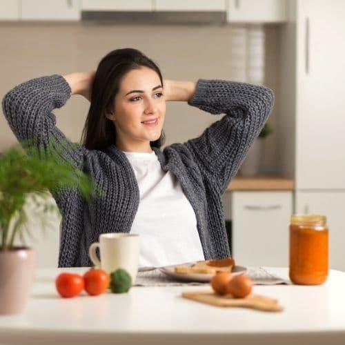Achtsam Essen bei Stress: das Geheimnis einer stresslindernden Ernährung (Podcast #64)