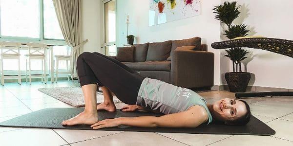Pilates online Training bequem von zuhause aus