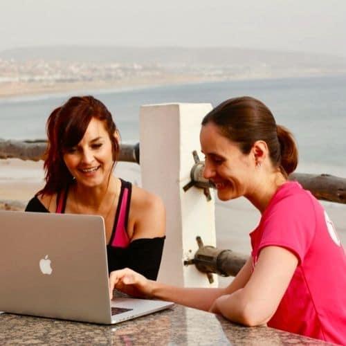 Online Fitness für vielbeschäftigte Frauen - mit Kerstin Goldstein
