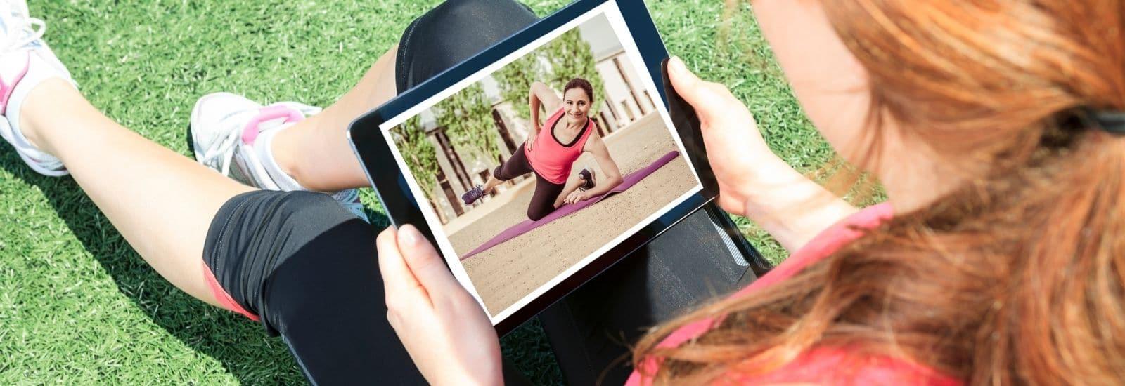 Online Personal Training via Zoom für vielbeschäftigte Frauen