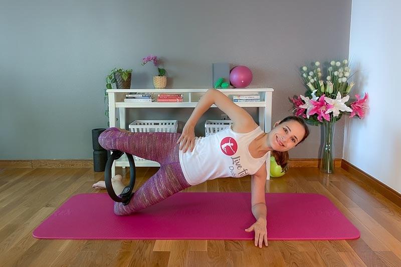Die 10 besten Pilatesring Übungen (mit YouTube Video)