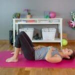 Pilates Atmung in Rückenlage