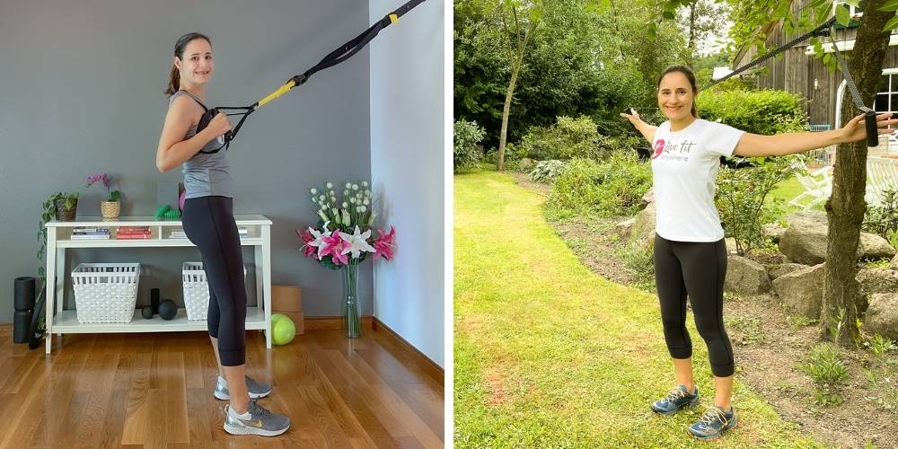 Sling Trainer Vergleich: TRX Suspension Trainer vs. Body Wisdom Sling Trainer