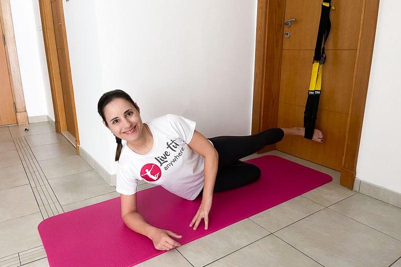 beste Sling Trainer Bauchübung - Side Plank